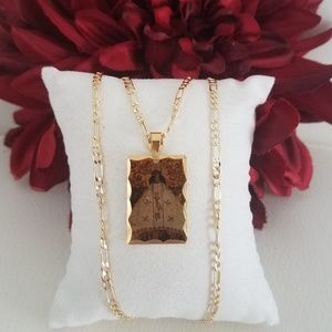 Virgen of Juquila Picture Necklace